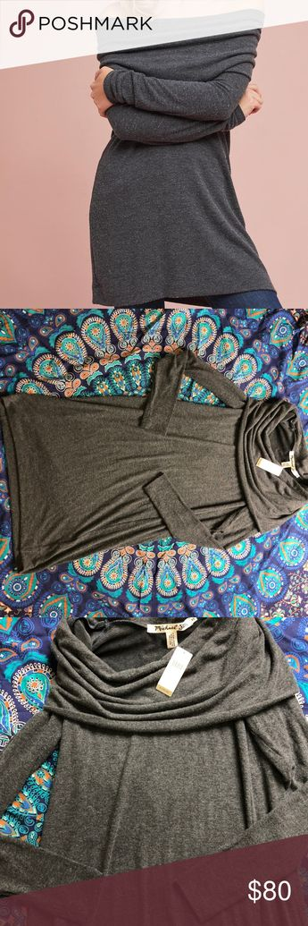bdb58c70d6bc NWT Anthropologie Tunic Sweater Gorgeous NWT gray tunic sweater from  Michael Stars from Anthropologie. Beautiful