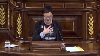 Diputada Esquerra dice que le importa un comino la gobernabilidad de España