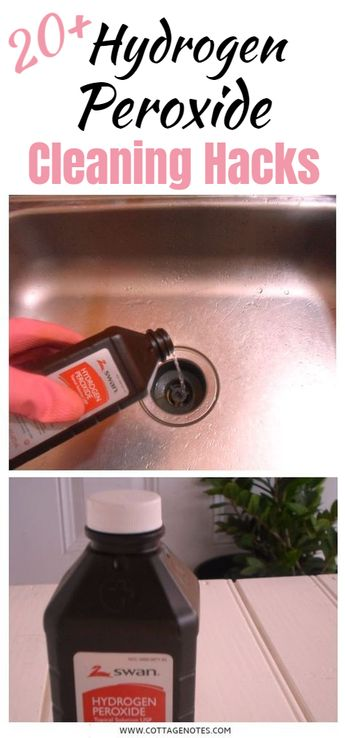 20+ Hydrogen Peroxide Cleaning Hacks