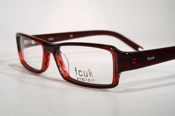 84aa81b2c1 Dark Red French Connection FCUK Vision Unisex Optical Glasses Frames  Eyeglasses   eBay (RipVanW)