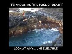 The pool of death .. unbelievable 2017 - YouTube