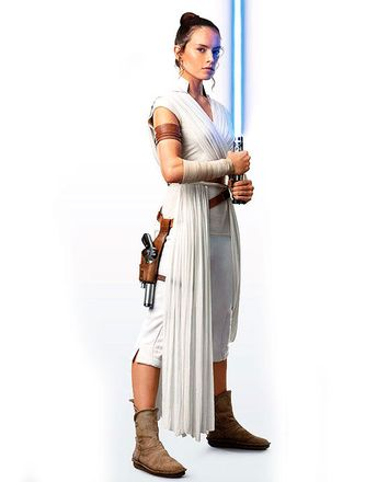 New photo of Rey from Star Wars the Rise of Skywalker