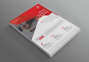 Pegasus Modern Professional Business Flyer Template 001043 - Template Catalog