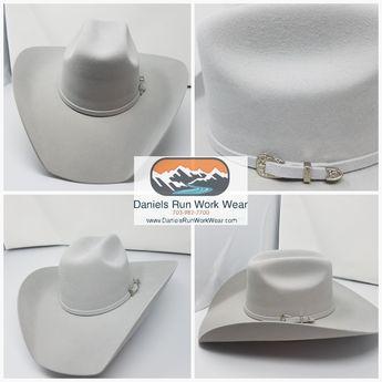 0a0fd5a97e4ba Lone Star Ash 4X Western Light Gray Felt Hat Item LS-518RCA