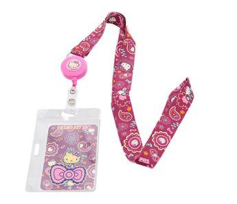 Hello Kitty ID Badge: Paisley