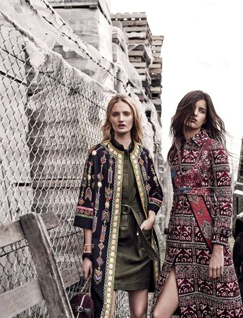 Easton Pearson (L) + Burberry Coat(R) | Currently Trending | HonestlyWTF