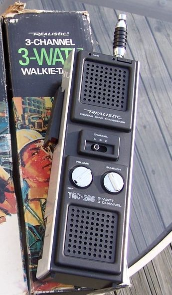 Vintage CB Walkie Talkies