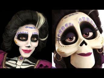 Mama Imelda Makeup tutorial - Pixar's Coco - YouTube
