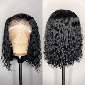 Details about USA Wigs 100% Virgin Human Hair Lace Front Wigs Full Lace Wigs Curly Baby Hair