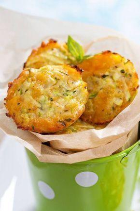 Mini Muffins chu00e8vre courgette
