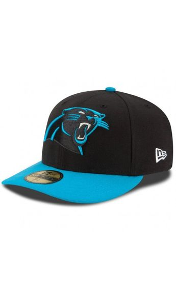 half off 7b8fe e7251 ... spain nfl mens carolina panthers new era black panther blue on field  low crown 59fifty 08e59