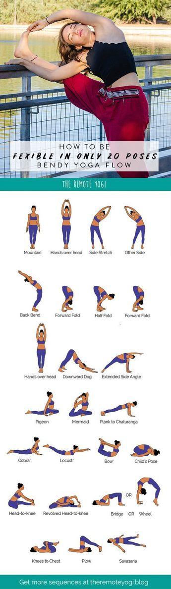 Yoga Flow for a Bendy Spine - FREE PDF - the remote yogi