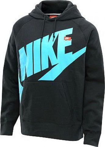 NIKE Men's AW77 Logo Pullover Hoodie #hoodie #men'shoodies #men's #hoodies #shoes #outlet