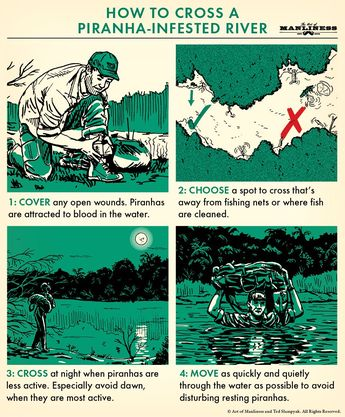Wretched Survival Skills Books #SurvivalHorror #SurvivalPreppingBugOutBag