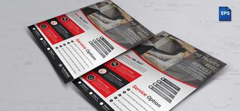 Stunning Corporate Business Flyer Design - Graphic Templates