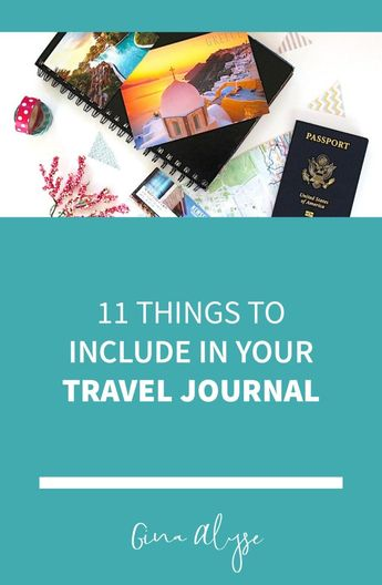 Top Supplies to Include in Your Travel Journal