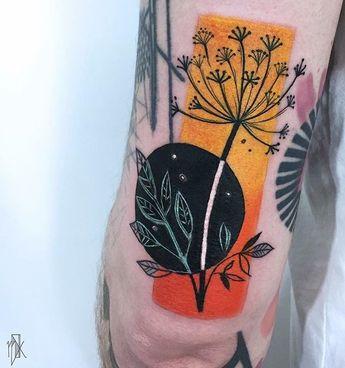 Kudu flower tattoo