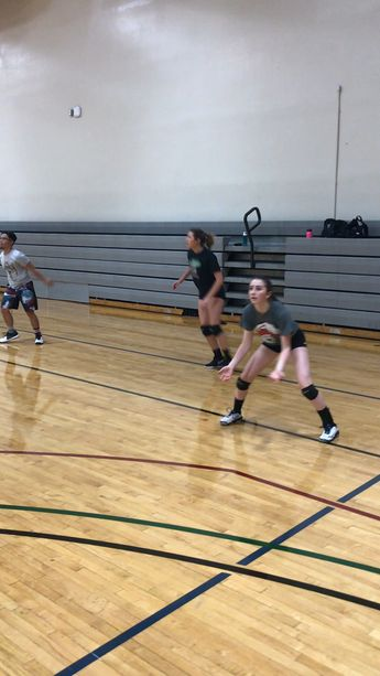 Passing Drills Volleyball Players Do To Improve Ball Control Skills