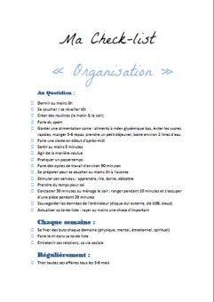 Apprendre à s'organiser (Bilan du challenge)