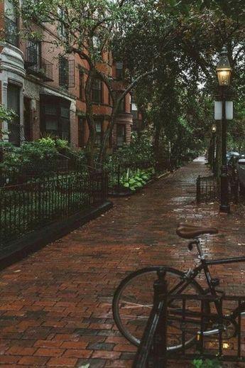 CALM my SOUL - Boston in Rain