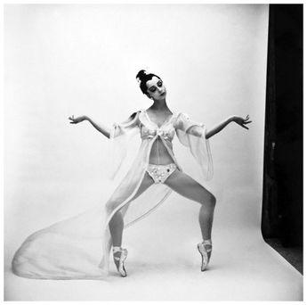 New York City Ballet dancer Mimi Paul 1966