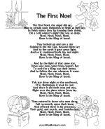 Lots of Christmas Carol Lyrics Sheets, Free Printable Christmas Song Sheets   BlueBonkers