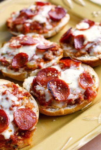 Meat Lover's Stuffed Pizza Bread