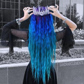 "@mystique.vp on Instagram: ""Baroque Amethyst Crown with beautiful hair @sandrarclemente😘😘 Style code:AWC0001 Add code""HALLOWEEN"" to join the halloween sale now!!🎃🎃"""