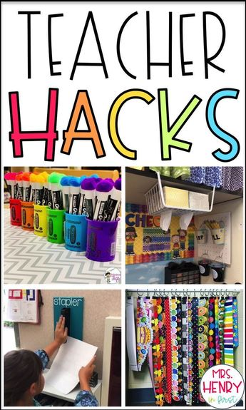 20 Amazing Teacher Hacks for the classroom from @mrshenryinfirst