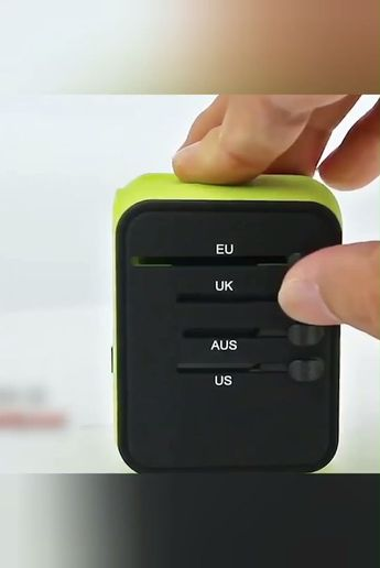 Smart Travel Adapter - ⭐⭐⭐⭐⭐ (5/5) - #Adapter #Smart #Travel