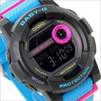 Casio Baby-G Analog Digital 100M Turquoise Black Sport Watc 2a4d8cc53