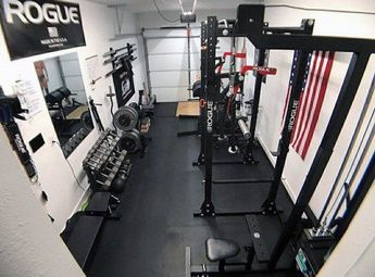 Top 40 Best Home Gym Floor Ideas - Fitness Room Flooring Designs