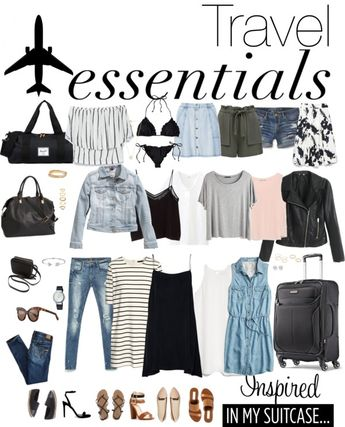 What to pack in a carry on suitcase only for a summer three week vacation