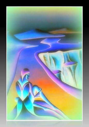 RUNA kunst:  Die Schau der ewigen Wasser RZ © 2012