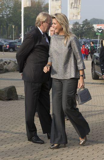 Queen Maxima Photos Photos: Queen Maxima Opens Seminar in Rotterdam