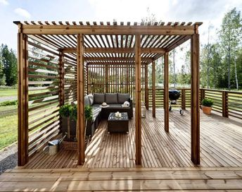 Unique Pergola #pergolato