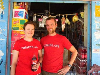 After tossing ideas back and forth with who they should fundraise for,the perfect UK-Africa charity came forth; Colalife.org.
