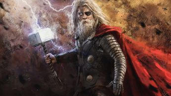 Old Thor 4k thor wallpapers, superheroes wallpapers, hd-wallpapers, digital art wallpapers, artwork wallpapers, 4k-wallpapers