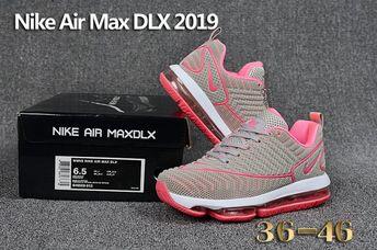e7cf35643edb68 Nike Air Max DLX 2019 KPU women s Running Shoes Grey Peach Red  849559-013