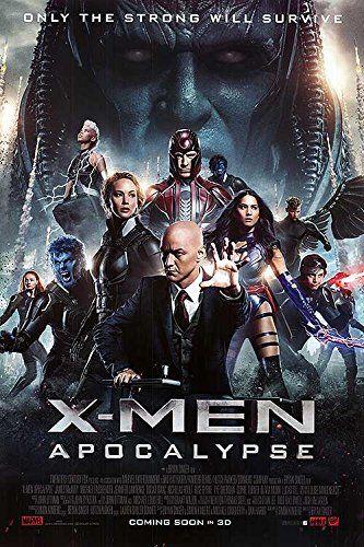 """X-Men: Apocalypse - Authentic Original 27"""" x 40"""" Movie Poster [Entertainment Memorabilia]"""