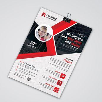 Contemporary Print Flyer Templates 002532 - Template Catalog