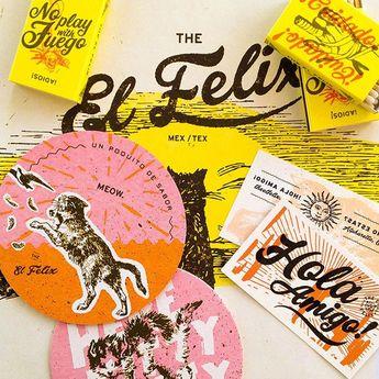 The El Felix Menu by Green Olive Media