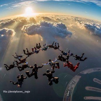 Dubai Sky Diving ❤️❤️ Pic 👉©Juan Mayer
