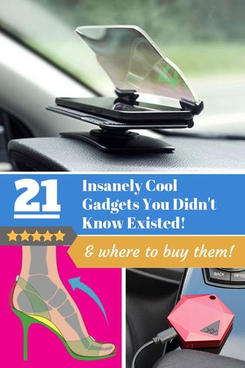 21 Insanely Cool Gadgets You Didn't know Existed - Sandra Hudson - #Cool #didnt #Existed #Gadgets #Hudson #Insanely #Sandra