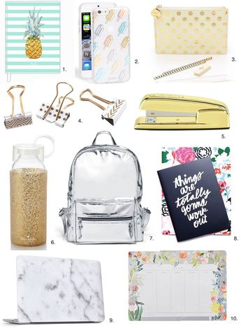 Fashionable Back-to-School Supplies