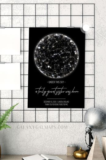UNIQUE Star Map by Date and Place  - Engagement Present, Married, New Mexico Gift, Wisconsin Map, Science Lover, Nebula Night SkyTanks, Custom Couple Gift, Custom Newborn Gift, Personalized Sky Map, Celestial Astrology, #Married #NewMexicoGift #WisconsinMap #ScienceLover #NebulaNightSkyTanks #CustomCoupleGift #CustomNewbornGift #PersonalizedSkyMap #CelestialAstrology
