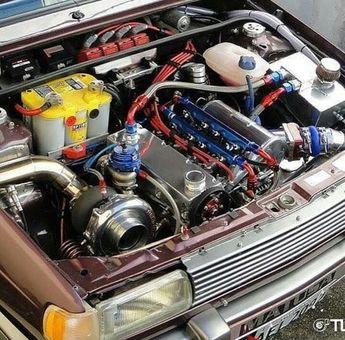 VW Gol GTS 1991   Pastore Car Collectio