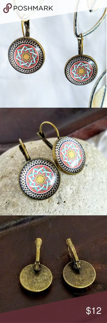 Allergy Safe Autumn Mandala Earrings Boutique