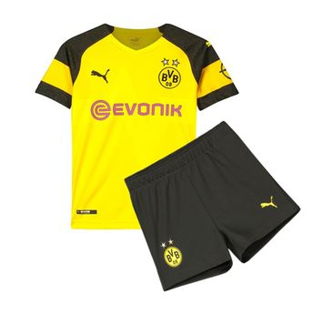 905fd20c9 Borussia Dortmund 18/19 Home Kids ( Youth) Kit Name and Number