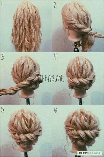 Cute 45 Fantastic Updo For Long Hair Ideas That Can Make You Look Beautiful /... #EasyBraid #BraidedHair Click to See More...